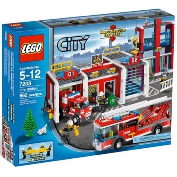 LEGO 樂高 CITY 城市系列 Fire Station 消防局 60215