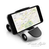 車載手機架座汽車用手機導航支撐架多功能儀表台黏貼式創意擺件 果果輕時尚