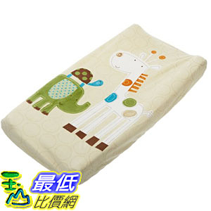 [美國直購] Summer 92520 Infant Infant Character Change Pad Cover, Safari Stack 尿片墊套子