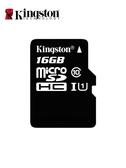 金士頓 16g內存卡micro sd卡高速 行車記錄儀tf卡 16g手機內存卡 雙12