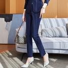 輕鬆好搭藍色黑色上班西裝長褲[21S021-PF]美之札