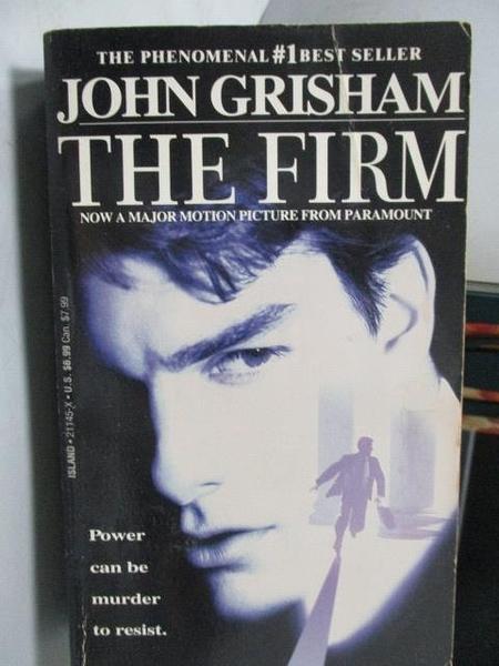 【書寶二手書T9/原文小說_OUA】The Firm_John Grisham