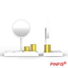品菲特PINFIS LED輕柔光化妝鏡收納盒 補光鏡 桌面收納