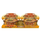 統一滿漢大餐蔥燒牛肉麵192Gx2入【愛買】
