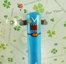 【震撼精品百貨】多摩君_Domo君~2C筆-藍色筆桿