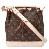 【Louis Vuitton 路易威登】M40817 經典Monogram Noe BB束口肩背水桶包(迷你)