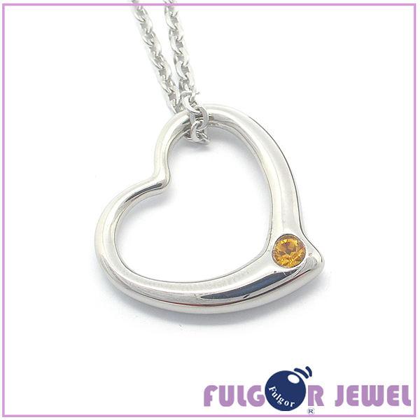 316西德鋼 鋼飾 流行飾品 經典款愛心造型 316西德鋼 項鏈【Fulgor Jewel】