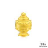 點睛品 Charme文化祝福 八瑞相-寶瓶 黃金串珠