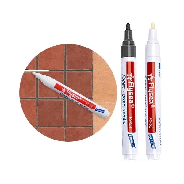 【BlueCat】磁磚縫隙修補麥克筆(1入) 美縫筆 修色筆 地磚 牆面美化 修復 防霉