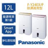 Panasonic 國際牌 F-Y24EX高效能型 除濕機 12公升