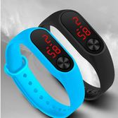 LED兒童手錶小男女孩學生玩具電子表運動手環防水可愛網紅新概念