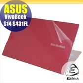 【Ezstick】ASUS S431 S431FL 二代透氣機身保護貼(含上蓋貼、鍵盤週圍貼、底部貼)DIY 包膜