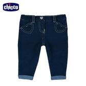 chicco To Be BG 愛心針織牛仔長褲