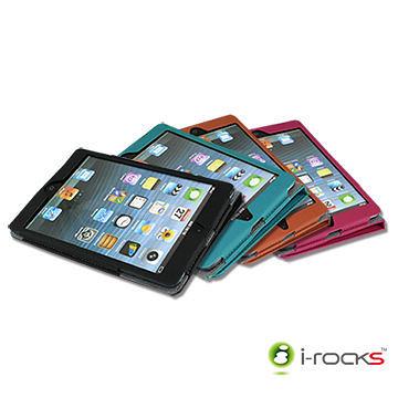 {光華新天地創意電子}i-rocks 艾芮克 IRC14W iPad mini 專用皮革保護皮套  喔!看呢來