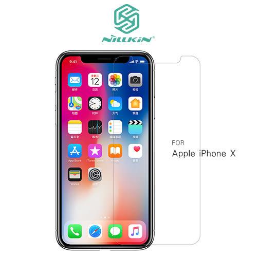 摩比小兔~NILLKIN Apple iPhone X 超清防指紋保護貼 套裝版 保護貼 螢幕保護貼 螢幕貼