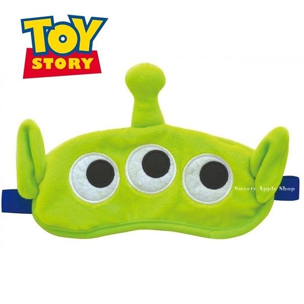日本限定 迪士尼 玩具總動員 三眼怪  眼罩 / 舒眠眼罩