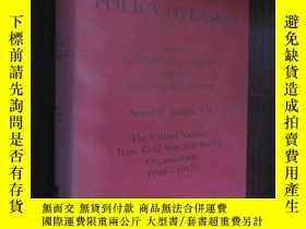 二手書博民逛書店DOCUMENTS罕見ON BRITISH POLICY OVE