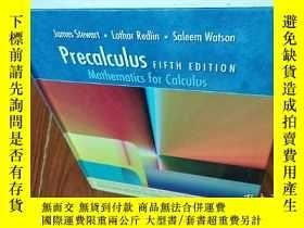 二手書博民逛書店Precalculus罕見FIFTH EDITION 請看圖片我