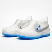男女式成人硅膠鞋套韓國時尚雨鞋套兒童防水防雨加厚防滑耐磨雨靴 【快速出貨】
