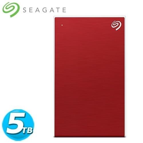 全新 Seagate希捷 Backup Plus Por 2.5吋 5TB 櫻桃紅(STHP5000403)