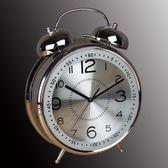 生活大號鬧鐘8寸4寸客廳創意靜音台鐘