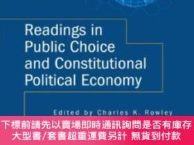 二手書博民逛書店Readings罕見In Public Choice And Constitutional Political E
