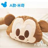 【A米奇造型束口袋】Norns 迪士尼正版絨毛拍立得相機包MINI 7S 25 50S 8等