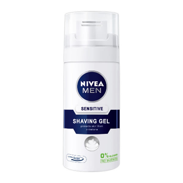 NIVEA妮維雅 男士極淨刮鬍泡35ml【康是美】