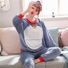 家居服 珊瑚絨睡衣女秋冬季加厚加絨2021年新款加肥大碼法蘭絨家居服套裝 薇薇
