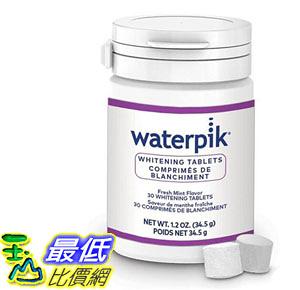 [9美國直購] 30錠入美白錠  Waterpik WT-30 沖牙機用美白錠 (WF05 , WF06  系列用)Whitening Water  _s32
