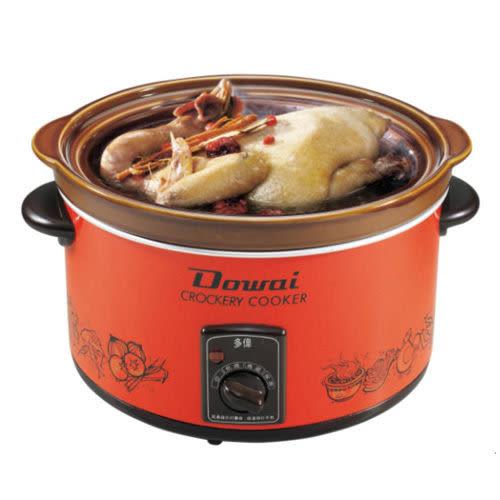 【中彰投電器】DOWAI多偉(3.6L)陶瓷燉鍋 ,DT-500【全館刷卡分期+免運費】小吃攤的好幫手 ~