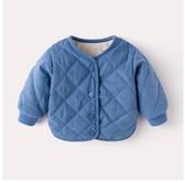 寶寶外套秋冬加絨棉衣男童加厚衣服2020新款兒童女童棉服嬰兒冬裝 後街五號