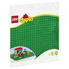 LEGO 樂高 Duplo 得寶系列 2304 大底板 綠 【鯊玩具Toy Shark】