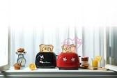 小花花日本精品迪士尼米奇黑色紅色經典配色吐司機 廚房家電 料理機~8