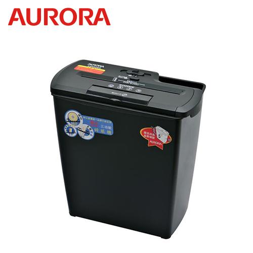 【AURORA 震旦】8張直條式多功能碎紙機(12公升) AS860