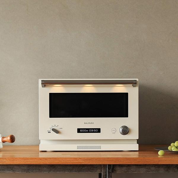日本【BALMUDA】 液晶顯示微波爐/烤箱18L The Range K04A