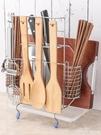 刀架置物架落地廚房用品用具多功能筷子砧板架家用刀具收納架刀座 俏girl YTL