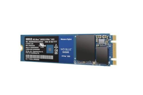 WD 威騰 BLUE 藍標 SN500 500G M.2 2280 PCIe3.0 x2 NVME SSD 固態硬碟