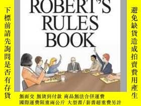 二手書博民逛書店The罕見Everything Robert s Rules BookY410016 Barbara Camp