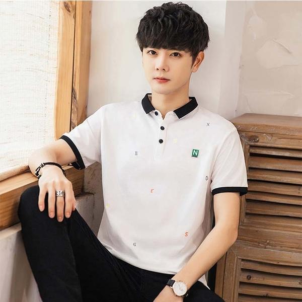 【型男精選任搭2件$699】短袖POLO衫潮流時尚設計男款POLO衫