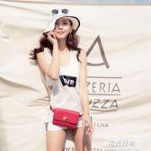 泳衣夏季女韓版分體三件套平角罩衫運動防曬遮肚顯瘦游 一週年慶 全館免運特惠