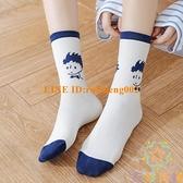 襪子女中筒襪外穿夏季小王子長筒襪長襪【奇妙商舖】