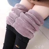 女童加絨加厚打底褲兒童三層保暖棉褲中小童寶寶純棉褲子外穿
