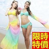 泳衣(三件式)-比基尼-音樂祭玩水海灘必備新品百搭3色54g182[時尚巴黎]