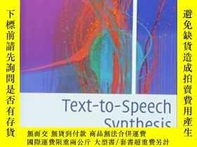 二手書博民逛書店Text-to-speech罕見SynthesisY255562 Paul Taylor Cambridge