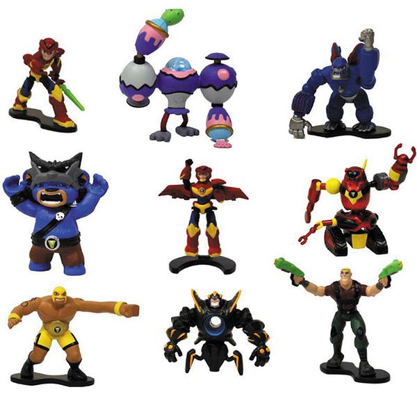 PLAYMATES 超能玩家 迷你公仔收藏組 隨機出貨1款 約6公分