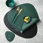 餐墊滋本家北歐風皮革餐墊創意防水防油西餐墊隔熱盤墊家用餐桌墊杯墊 玩趣3C