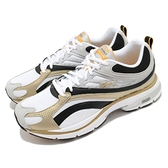 Reebok 慢跑鞋 Premier 1000 白 金 男鞋 復古運動鞋 DMX Foam 避震材料 運動鞋【ACS】 FZ1068