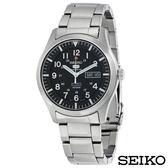 SEIKO精工  率性魅力夜光自動上鍊5號機械錶 SNZG13K1