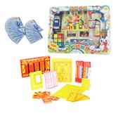 【金發財金紙 紙紮】普渡嬰靈-嬰靈金冥國台幣紙紮玩具套組合-含冥國台幣千元面額500張